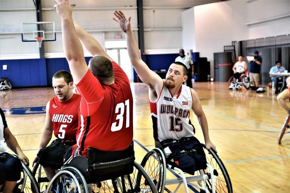 Isaac Blunt - WolfPack Wheelchair Basketball